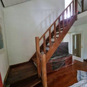 trap verven voor